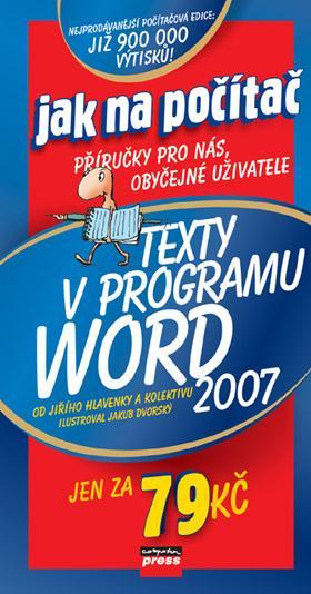 KNIHY - Texty v programu Word 2007