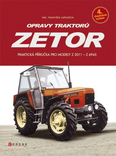 KNIHY - Opravy traktorů Zetor