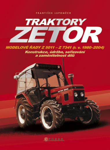 KNIHY - Traktory Zetor