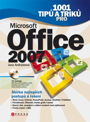 KNIHY - 1001 tipů a triků pro Microsoft Office 2007