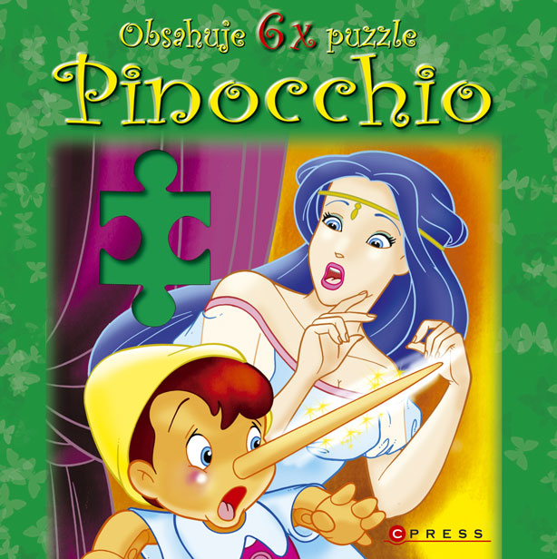 KNIHY - Computer Press - Pinocchio - puzzle