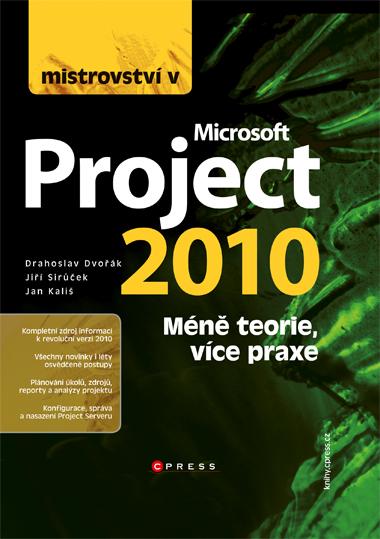 KNIHY - Computer Press - Mistrovství v Microsoft Project 2010